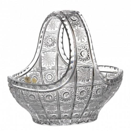 Kosz 500PK, szkło kryształowe bezbarwne, średnica 230 mm
