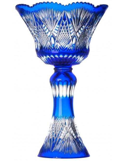 Wazon Gabriela, kolor niebieski, wysokość 455 mm