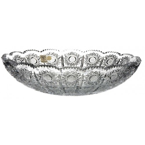 Półmisek 500PK, szkło kryształowe bezbarwne, średnica 310 mm
