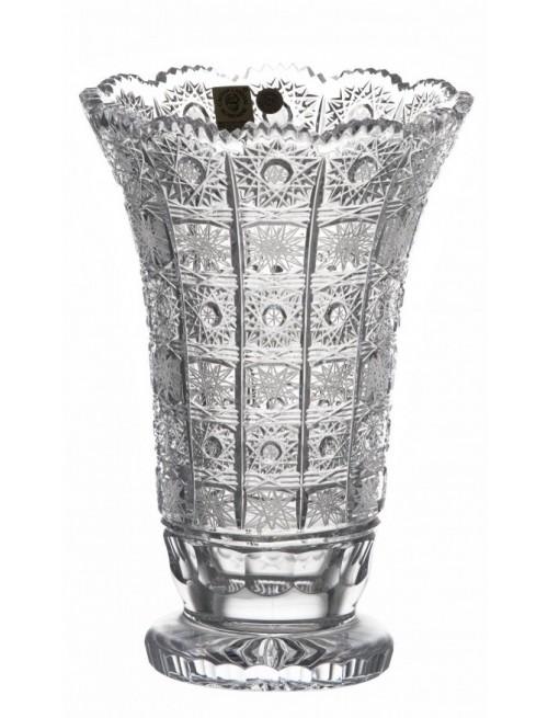 Wazon 500PK II, szkło kryształowe bezbarwne, wysokość 205 mm