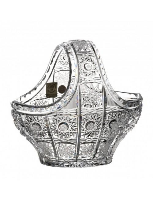 Kosz 500PK, szkło kryształowe bezbarwne, średnica 150 mm