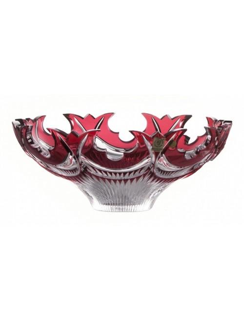 Półmisek Diadem, kolor rubinowy, średnica 275 mm