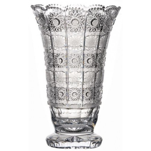 Wazon 500PK, szkło kryształowe bezbarwne, wysokość 355 mm