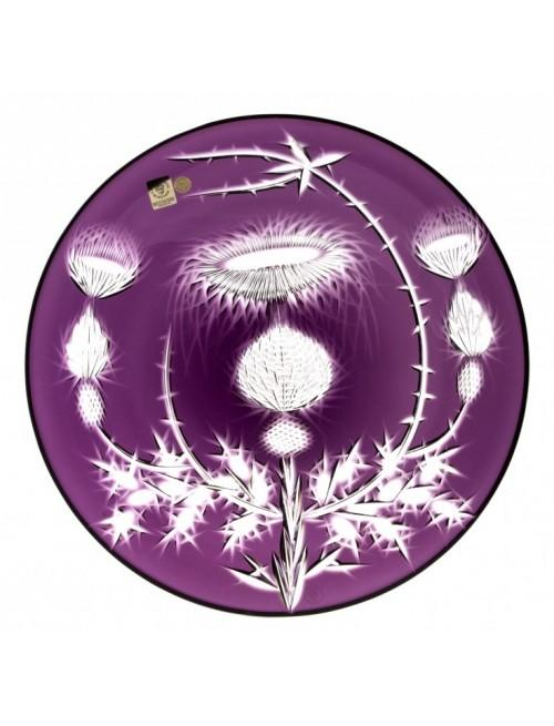Talerz Oset, kolor fioletowy, średnica 300 mm