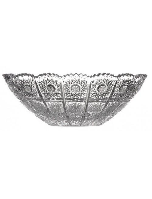 Półmisek 500PK, szkło kryształowe bezbarwne, średnica 280 mm