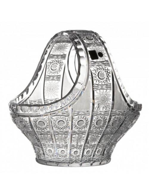 Kosz 500PK, szkło kryształowe bezbarwne, średnica 255 mm