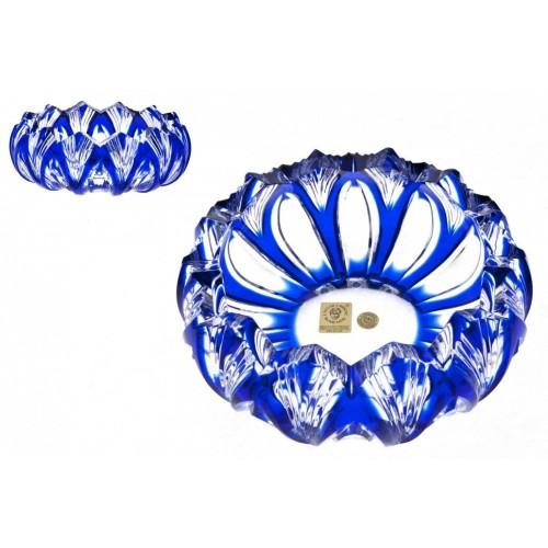 Popielniczka Lotos, kolor niebieski, średnica 155 mm