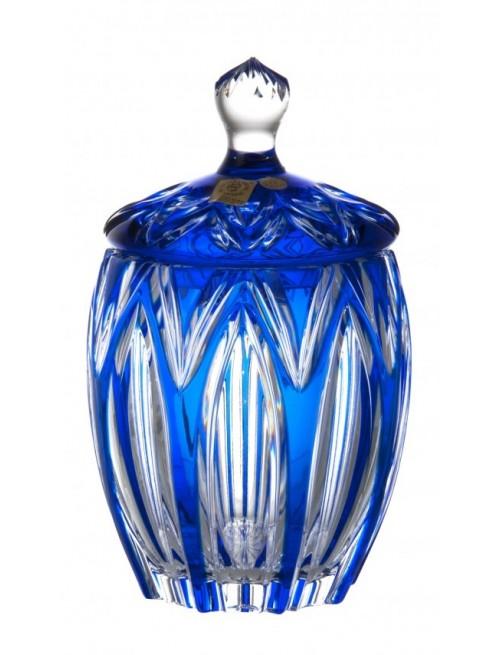 Pojemnik Lotos, kolor niebieski, wysokość 200 mm