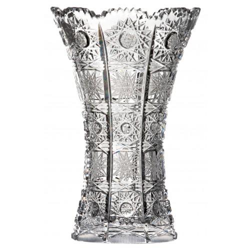 Wazon 500PK, szkło kryształowe bezbarwne, wysokość 180 mm