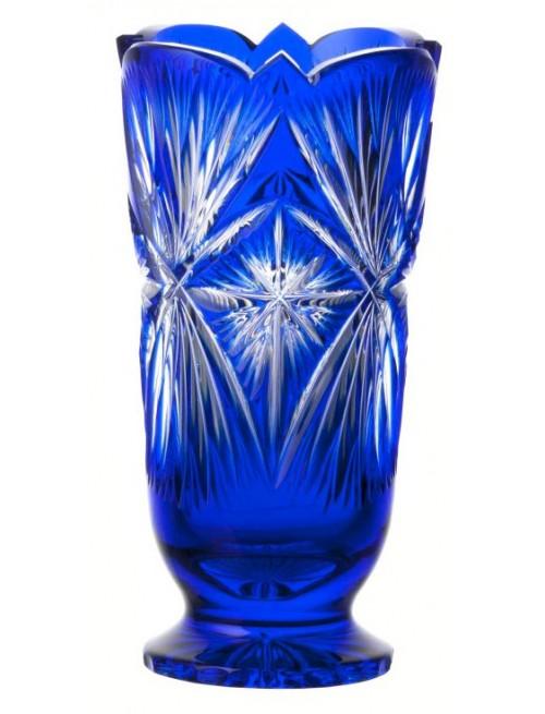 Wazon Grace, kolor niebieski, wysokość 200 mm