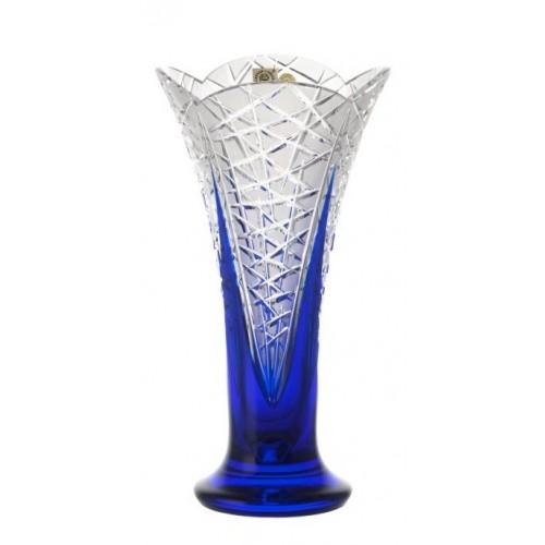 Wazon Pąki, kolor niebieski, wysokość 255 mm