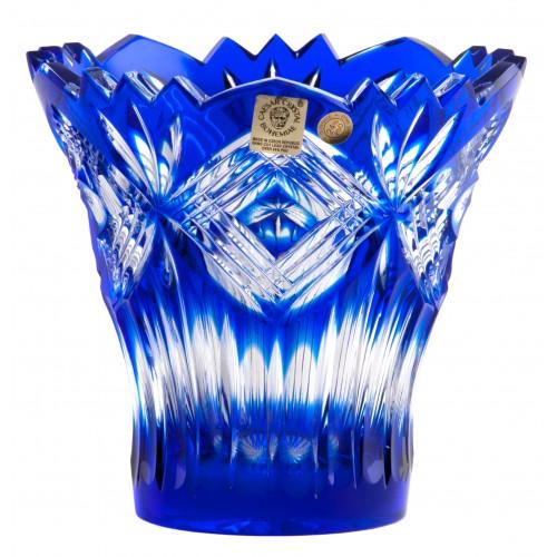 Wazon Mary, kolor niebieski, wysokość 142 mm