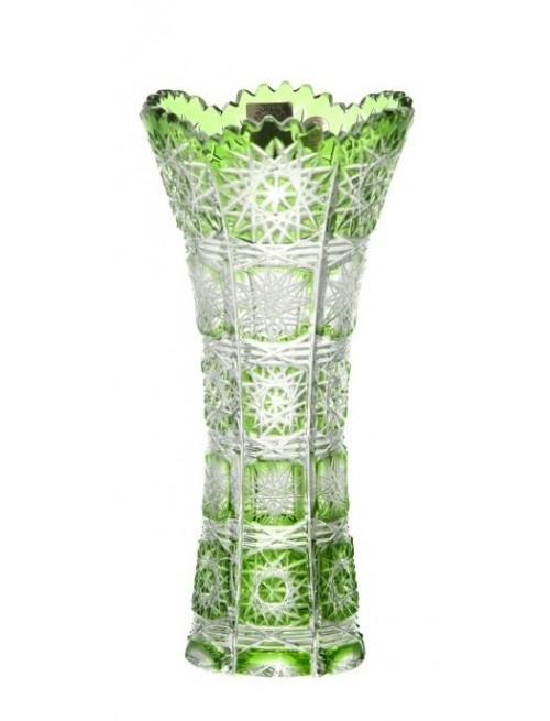 Wazon Paula I, kolor zielony, wysokość 180 mm