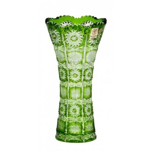 Wazon Paula, kolor zielony, wysokość 200 mm