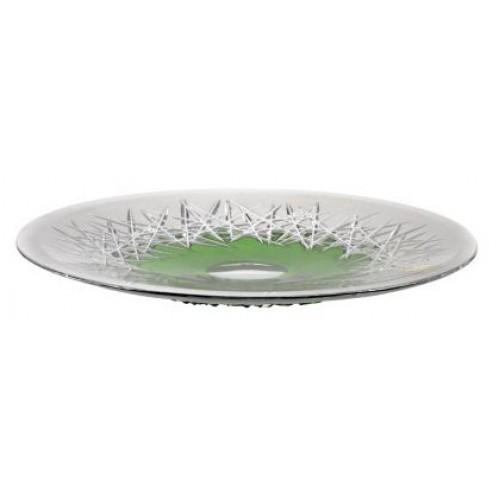 Talerz Szron, kolor zielony, średnica 300 mm