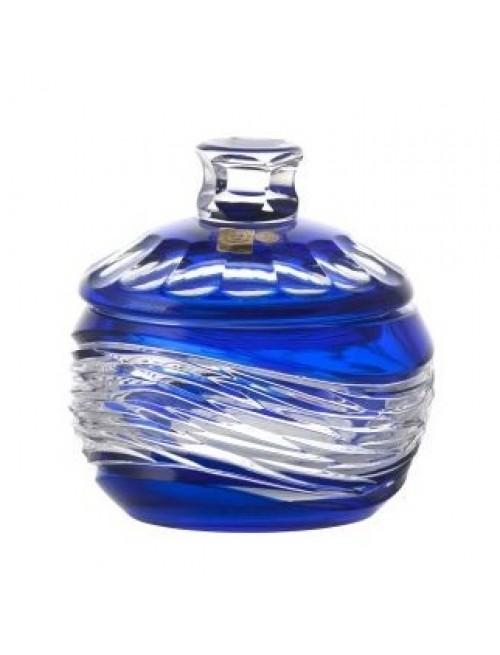 Pojemnik Poemat, kolor niebieski, wysokość 160 mm