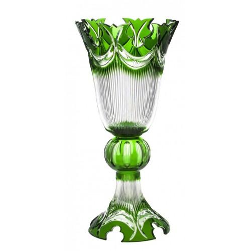Wazon Diadem, kolor zielony, wysokość 505 mm
