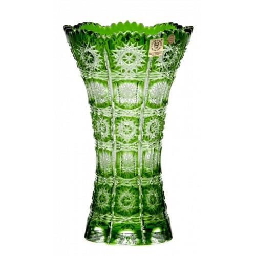 Wazon Paula III, kolor zielony, wysokość 205 mm