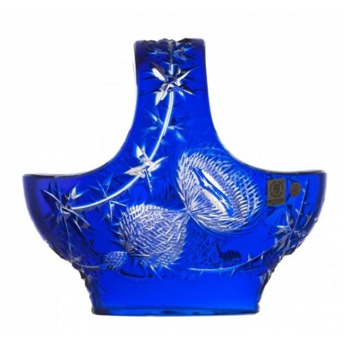 Kosz Oset, kolor niebieski, średnica 200 mm