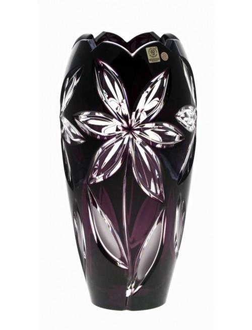 Wazon Linda I, kolor fioletowy, wysokość 230 mm