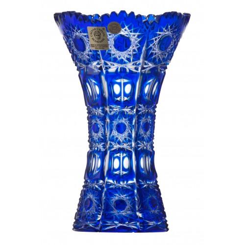 Wazon Petra, kolor niebieski, wysokość 155 mm