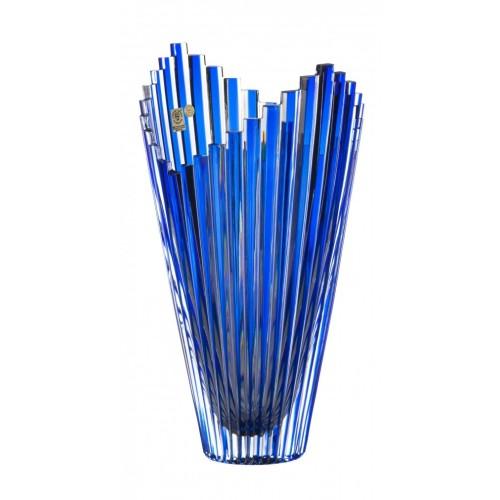 Wazon Mikado, kolor niebieski, wysokość 310 mm