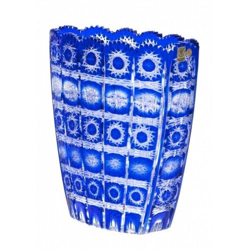 Wazon Paula, kolor niebieski, wysokość 230 mm