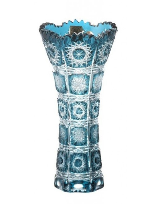 Wazon Paula I, kolor turkusowy, wysokość 180 mm