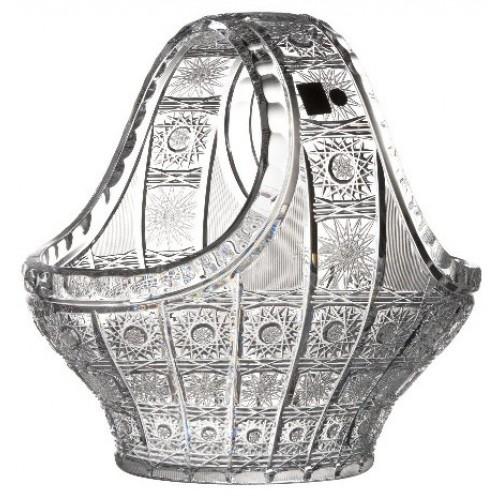 Kosz 500PK, szkło kryształowe bezbarwne, średnica 300 mm
