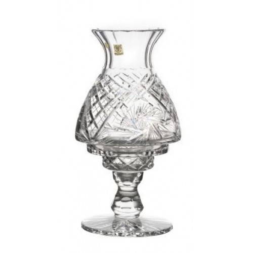 Lampa Chorągiewka, szkło kryształowe bezbarwne, wysokość 310 mm