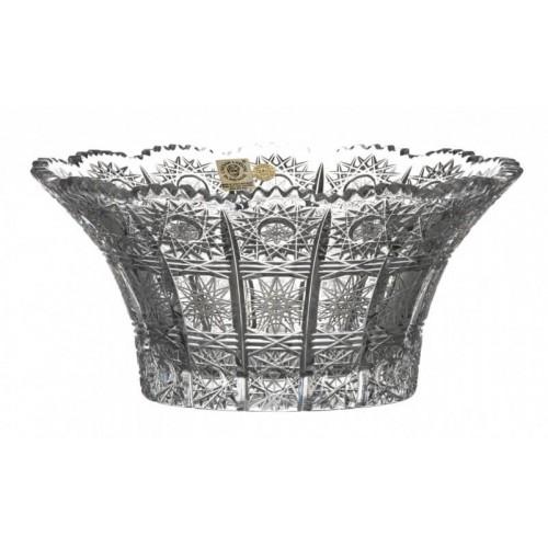 Półmisek 500PK, szkło kryształowe bezbarwne, średnica 205 mm