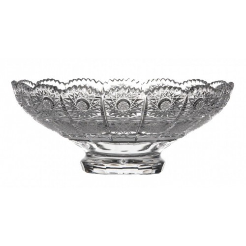 Półmisek 500 PK, szkło kryształowe bezbarwne, średnica 205 mm