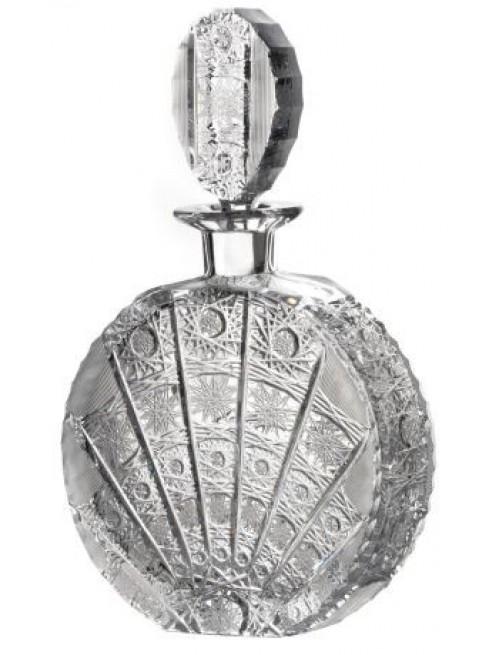 Butelka 500PK, szkło kryształowe bezbarwne, objętość 600 ml