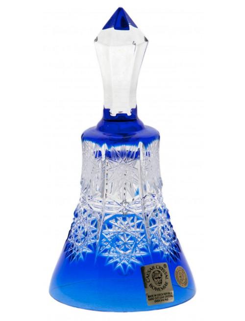 Dzwonek Paula, kolor niebieski, wysokość 126 mm