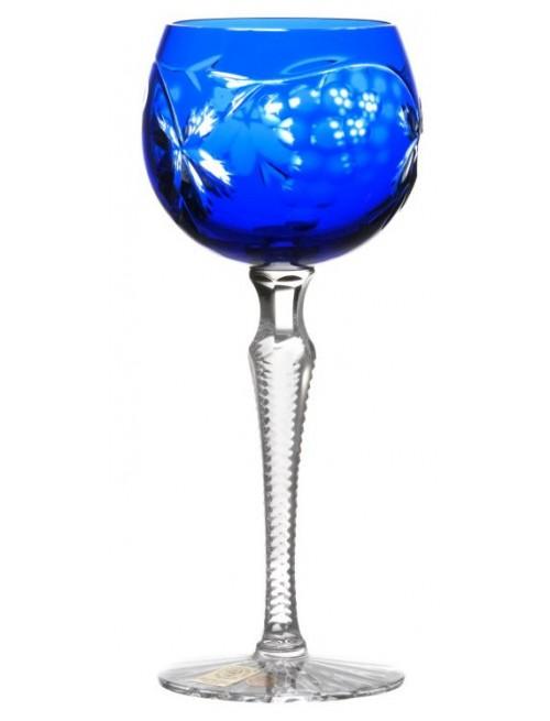 Kieliszek do wina Winogrona, kolor niebieski, objętość 170 ml