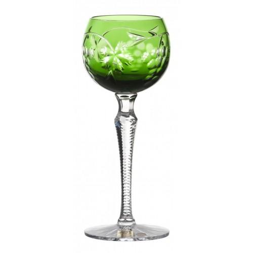 Kieliszek do wina Winogrona, kolor zielony, objętość 170 ml