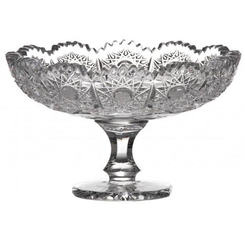 Patera 500PK, szkło kryształowe bezbarwne, średnica 120 mm