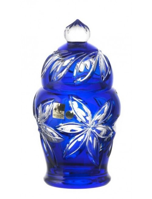 Pojemnik Linda, kolor niebieski, wysokość 200 mm