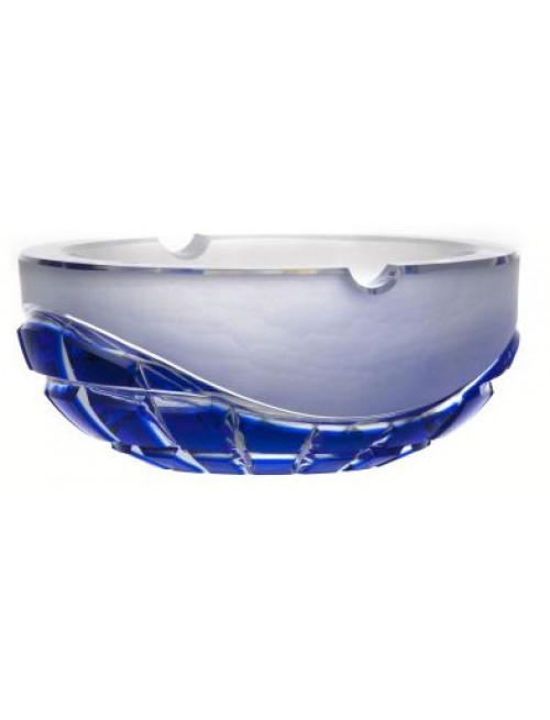 Popielniczka Neron, kolor niebieski, średnica 160 mm