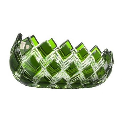 Półmisek Harlequin, kolor zielony, średnica 255 mm