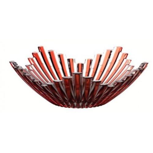 Półmisek Mikado, kolor rubinowy, średnica 230 mm
