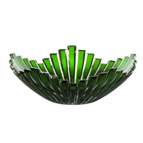 Półmisek Mikado, kolor zielony, średnica 230 mm