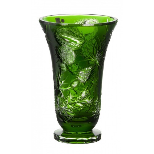 Wazon Oset, kolor zielony, wysokość 305 mm