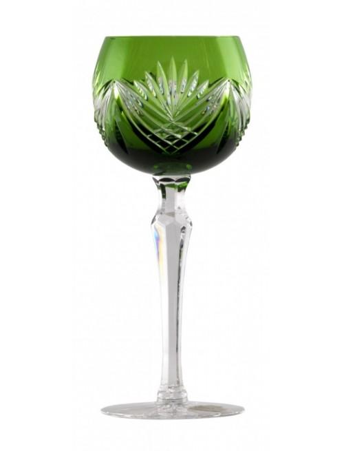 Kieliszek do wina Janette, kolor zielony, objętość 190 ml
