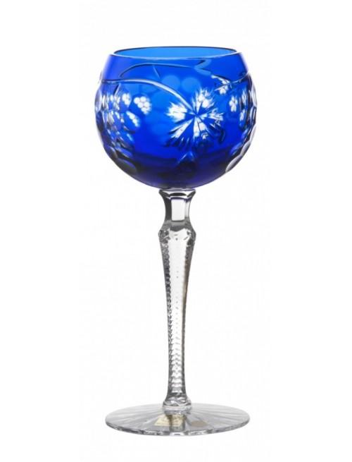 Kieliszek do wina Winogrona, kolor niebieski, objętość 190 ml