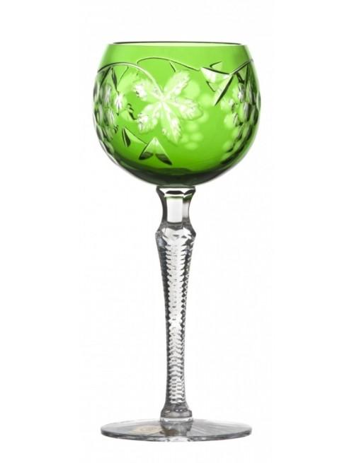 Kieliszek do wina Winogrona, kolor zielony, objętość 190 ml