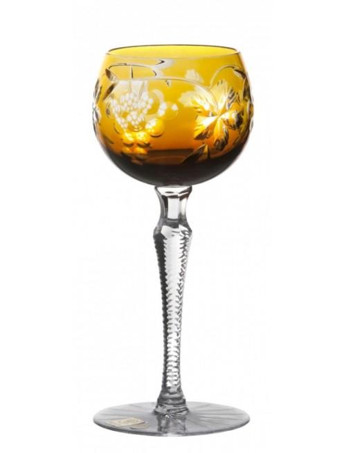 Kieliszek do wina Winogrona, kolor bursztynowy, objętość 190 ml