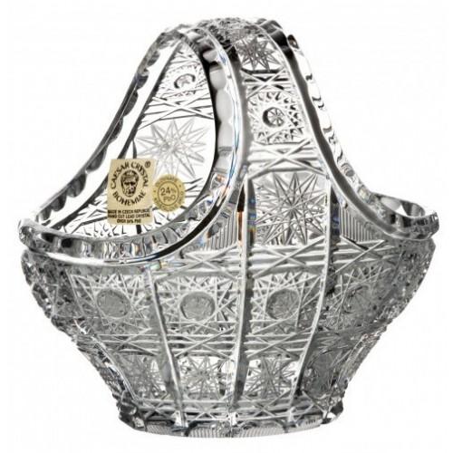 Kosz 500PK, szkło kryształowe bezbarwne, średnica 120 mm