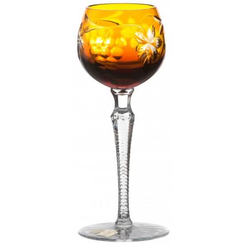 Kieliszek do wina Winogrona, kolor bursztynowy, objętość 170 ml