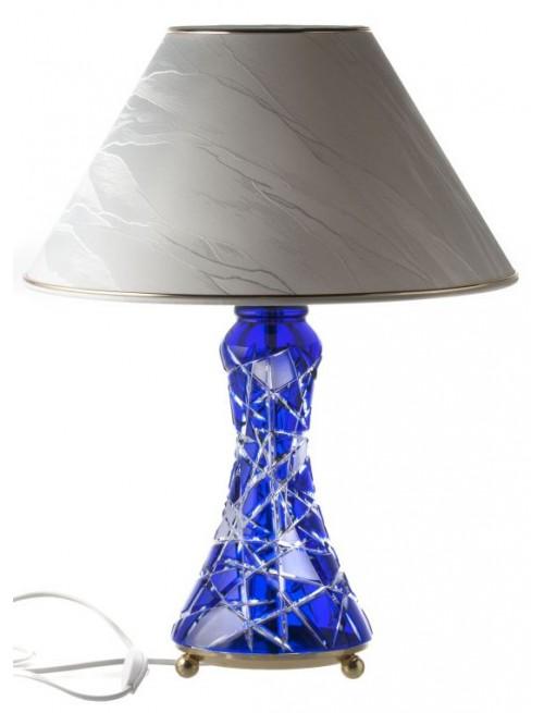 Lampa Mars, kolor niebieski, wysokość 270 mm